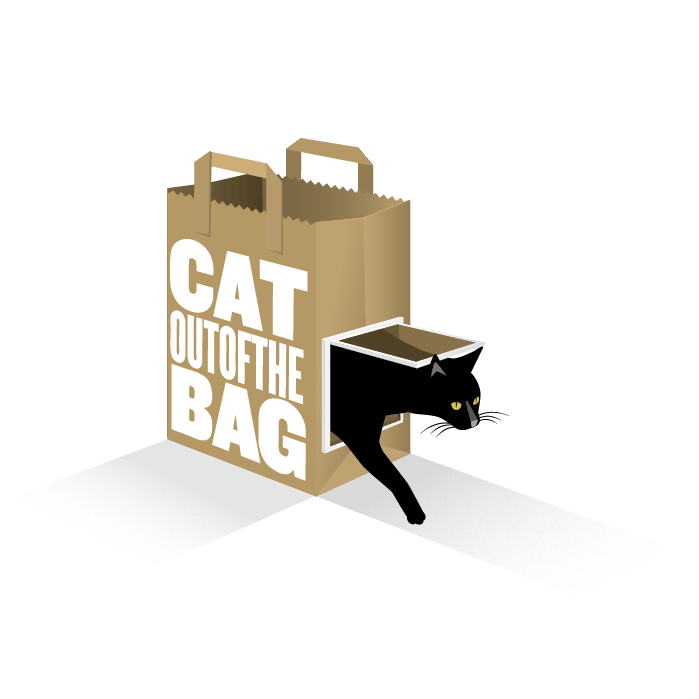Cat Out Of The Bag Productions - Cat In A Bag, Transparent background PNG HD thumbnail