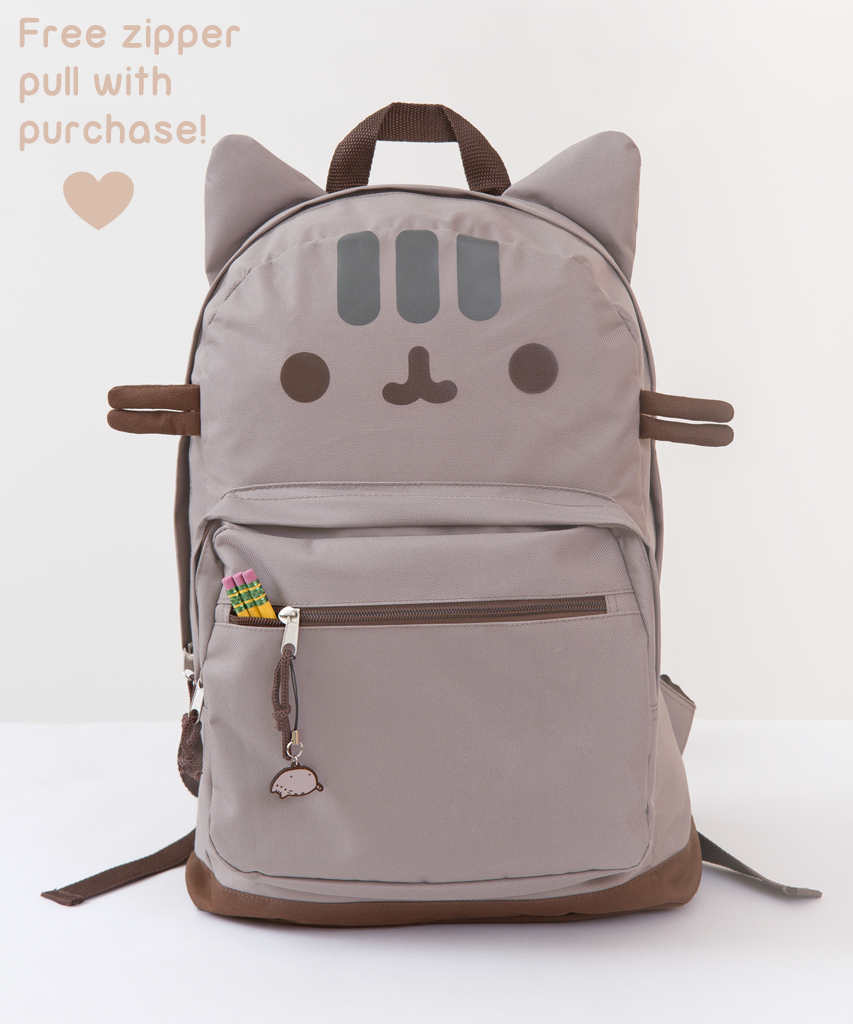 Pusheen The Cat Backpack - Cat In A Bag, Transparent background PNG HD thumbnail