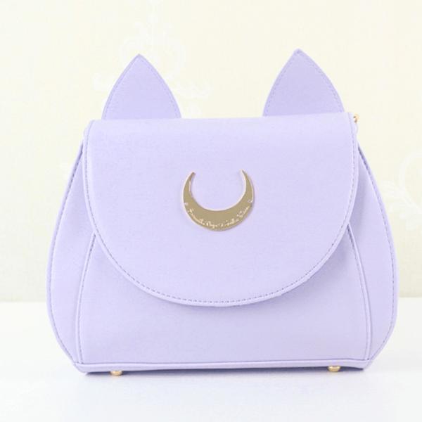 Sailor Moon Luna And Artemis Cat Moon Bag Sd00377 - Cat In A Bag, Transparent background PNG HD thumbnail