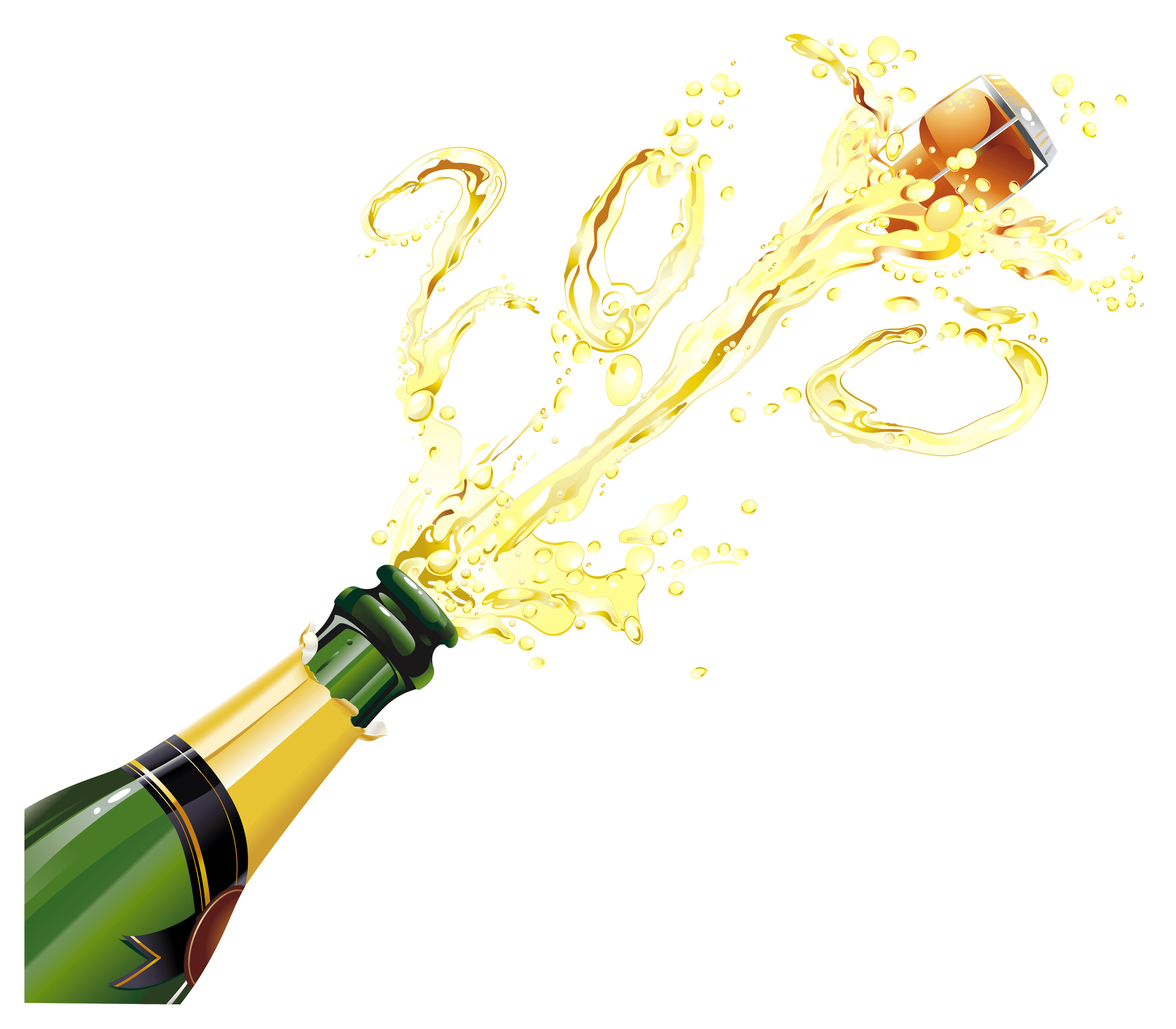 Champagne HD PNG