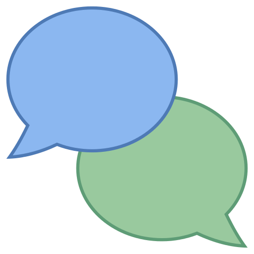 Chat Icon - Chat, Transparent background PNG HD thumbnail