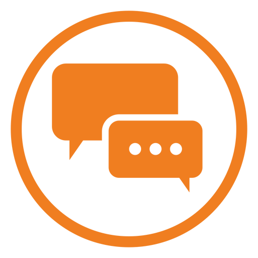 Chat Service Icon - Chat, Transparent background PNG HD thumbnail