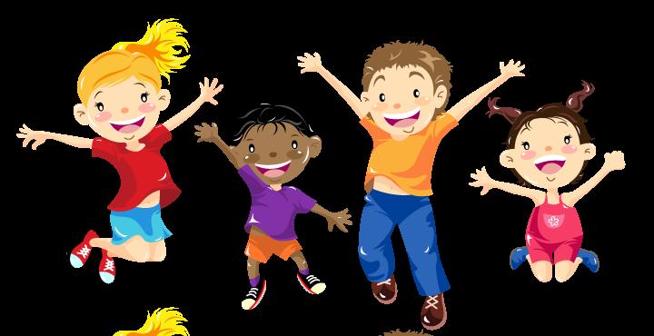 Children Having Fun At School PNG