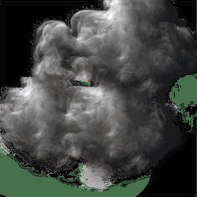 Circle Smoke Cloud - Smoke Effect, Transparent background PNG HD thumbnail