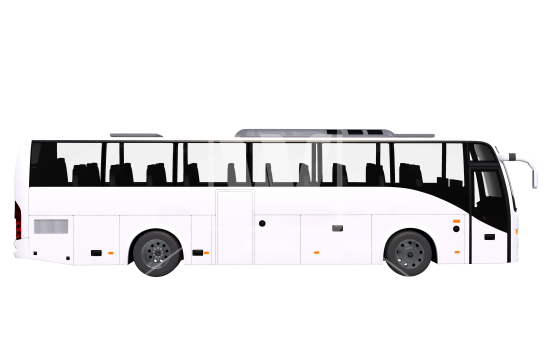 City Bus Side View PNG