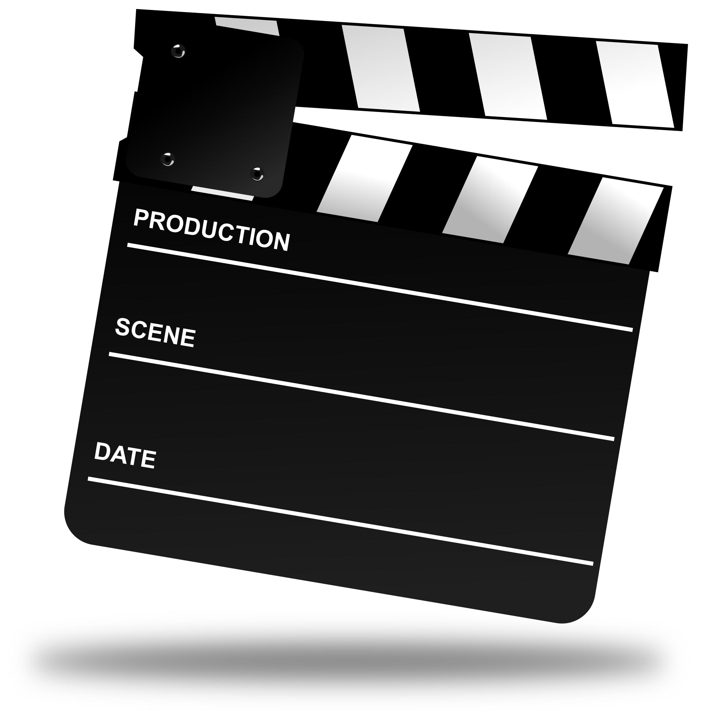 Clapperboard PNG