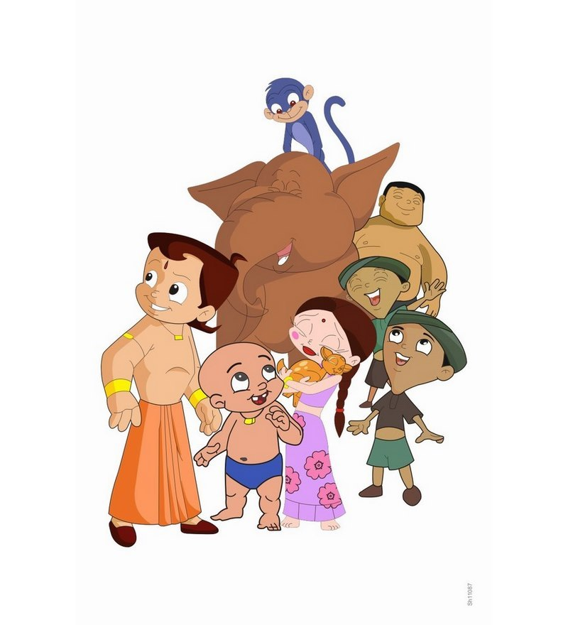Click To Zoom In/out - Chhota Bheem, Transparent background PNG HD thumbnail