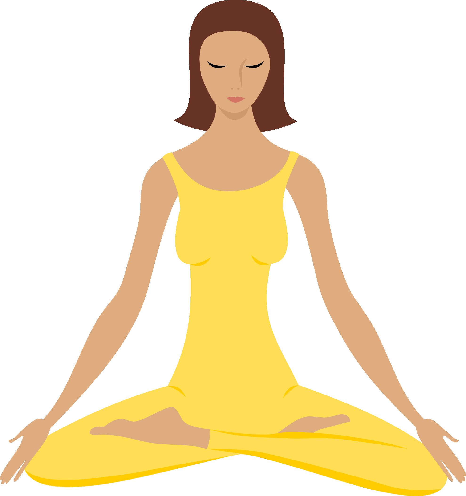 Clipart Info - Meditation, Transparent background PNG HD thumbnail