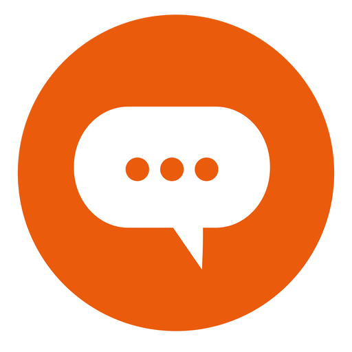 Cloud Chat Round Icon Png - Chat, Transparent background PNG HD thumbnail
