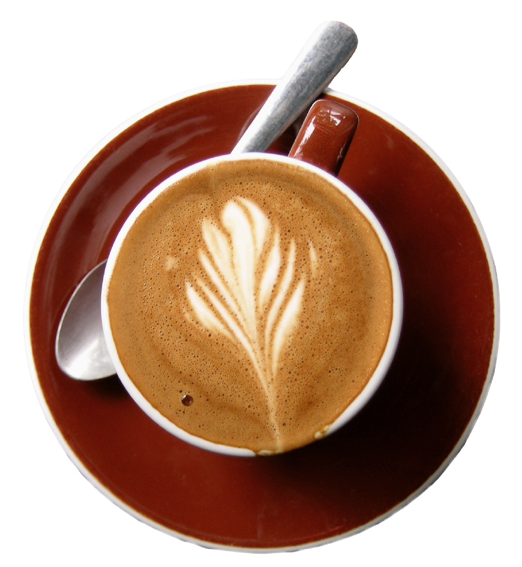 Red Cup Of Coffee Png Picture - Coffee, Transparent background PNG HD thumbnail