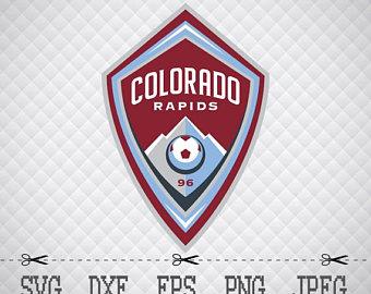Colorado Rapids Sc Logo Svg Dxf Eps Png Digital Cut Vector Files For Silhouette Studio Cricut - Colorado Rapids Vector, Transparent background PNG HD thumbnail