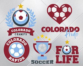 Colorado Rapids Svg, Colorado Rapids Files, Football Soccer Printables, Vector Files, Dxf - Colorado Rapids Vector, Transparent background PNG HD thumbnail