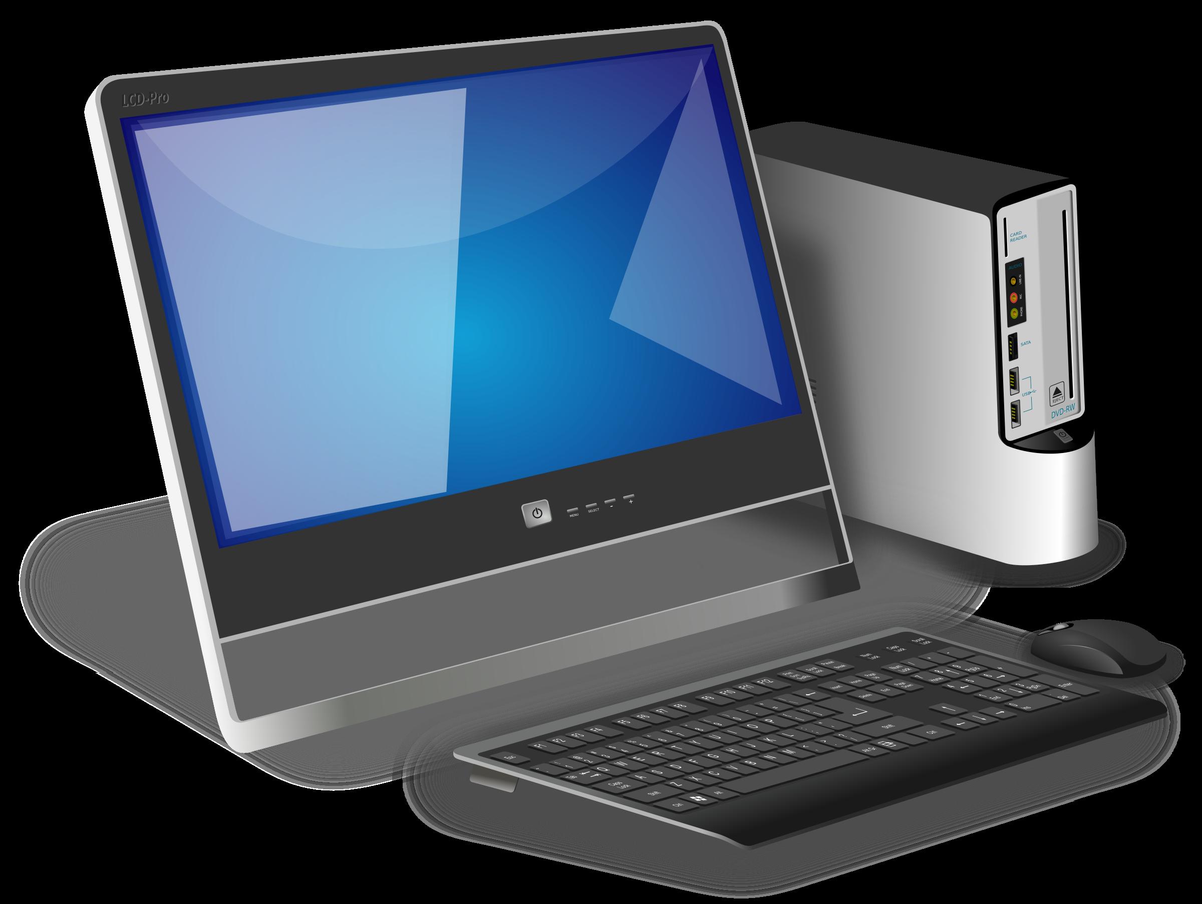 Computer Desktop Pc Png - Computer Pc, Transparent background PNG HD thumbnail