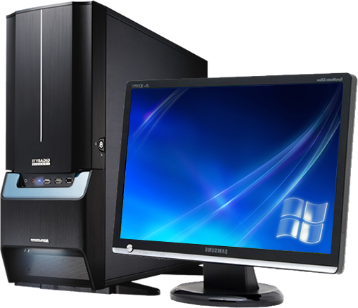 Computer Desktop Pc Png Image - Computer Pc, Transparent background PNG HD thumbnail