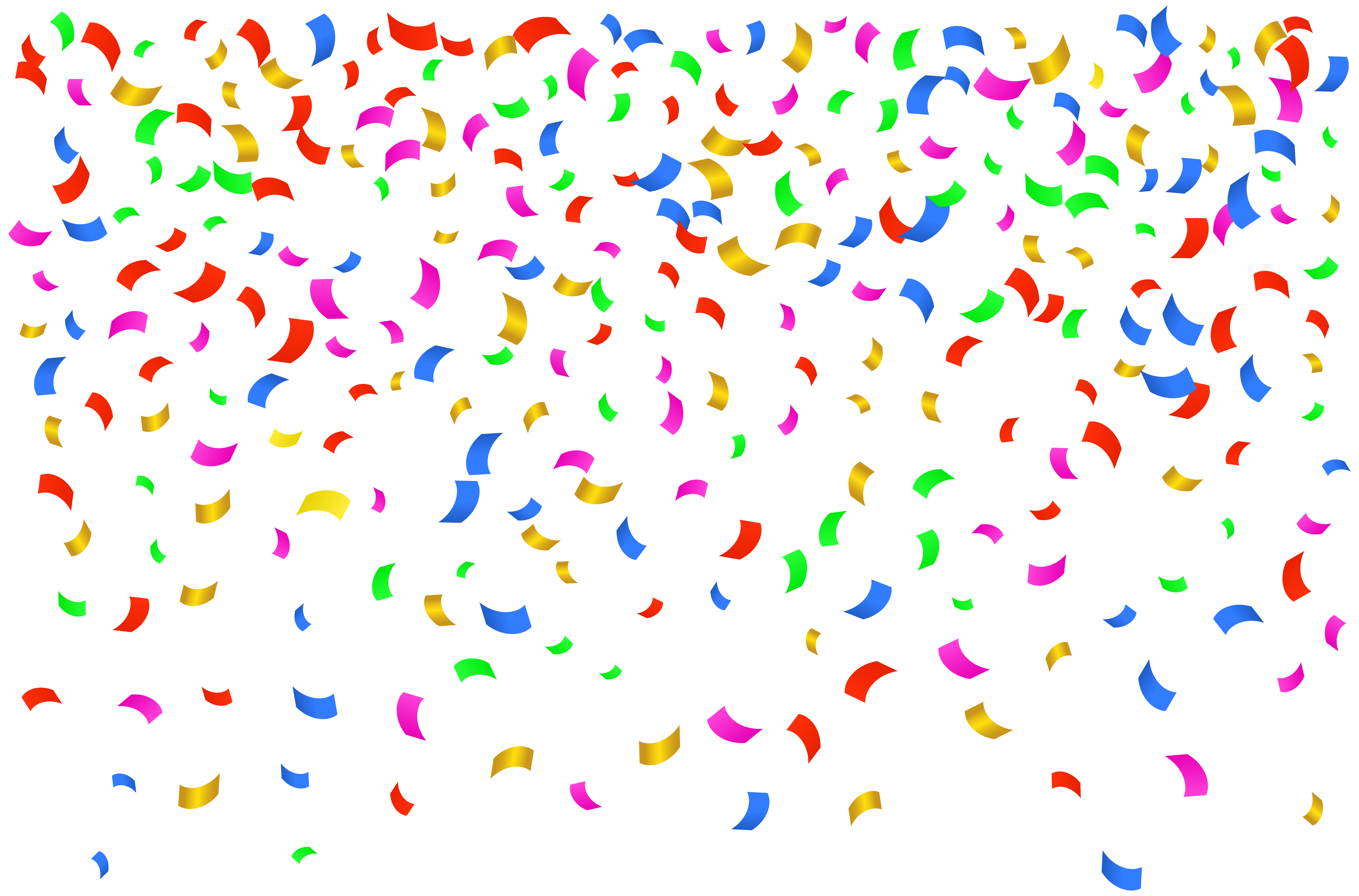 Confetti Png Image #39095 - Confetti, Transparent background PNG HD thumbnail