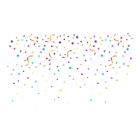 Confetti Png Image Png Image - Confetti, Transparent background PNG HD thumbnail