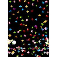 Confetti Transparent Png Image - Confetti, Transparent background PNG HD thumbnail