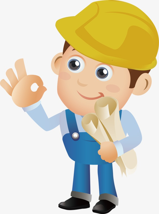 Construction Worker, Construction Worker, Safety, Produce Png And Vector - Construction Worker, Transparent background PNG HD thumbnail