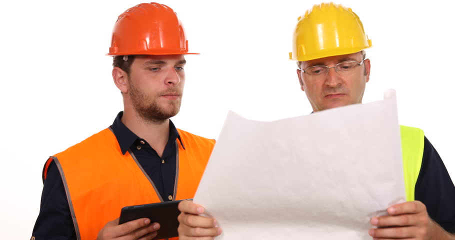 Supervisor Engineer Men Working Inspect Note Dates Checking Documents Activity. Ultra High Definition, Ultrahd - Construction Worker, Transparent background PNG HD thumbnail