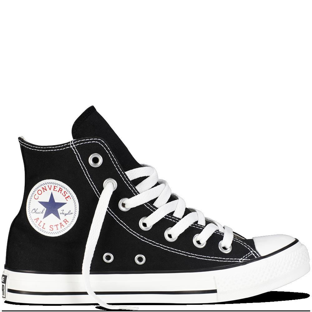 Converse Black High Top   Chuck Taylor Png - Converse, Transparent background PNG HD thumbnail