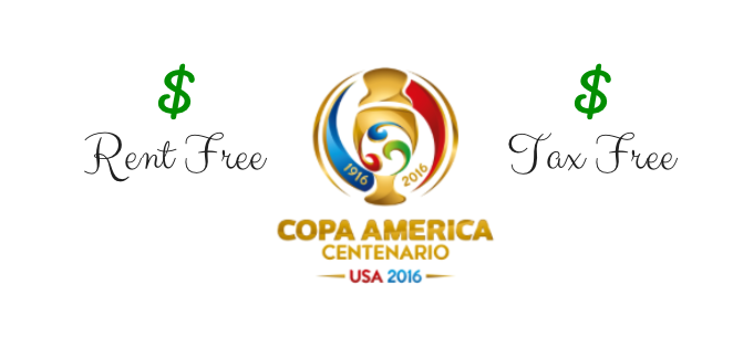 Copa America Centenario Soccer Tournament Is A Rent Free, Tax Free, Fee Free Event - Copa America, Transparent background PNG HD thumbnail