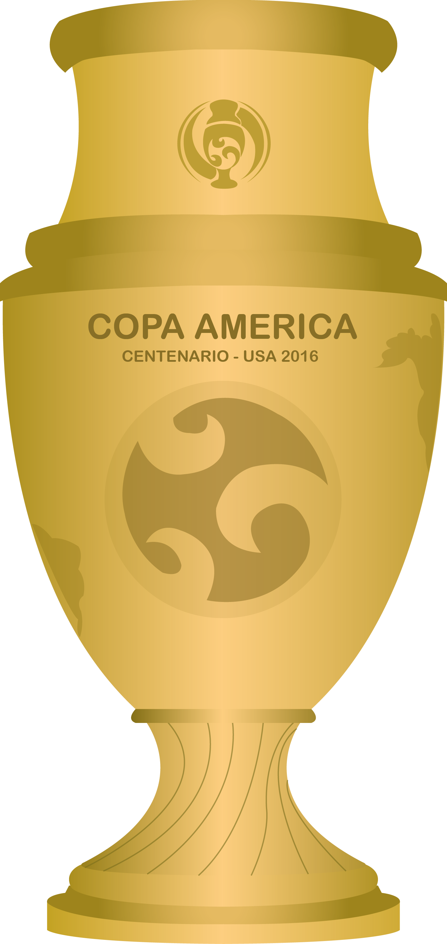 File:copa America Centenario Trophy.png - Copa America, Transparent background PNG HD thumbnail