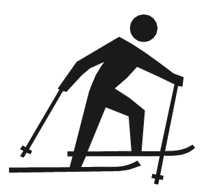 Cross Country Skiing   /signs_Symbol/roadside_Symbols/roadside_5/cross_Country_Skiing.png.html - Skiing, Transparent background PNG HD thumbnail