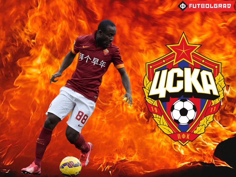 Cska Moscow Lose Battle For Seydou Doumbia - Cska Moscow, Transparent background PNG HD thumbnail