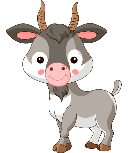 Cute Goat Png Hd - Billy Goat, Transparent background PNG HD thumbnail