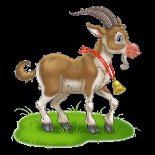 Cute Goat Png Hd - Cute Cartoon Goat Image 5, Transparent background PNG HD thumbnail