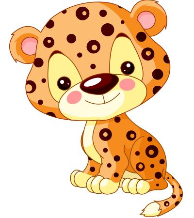 Leopard - Cute Leopard, Transparent background PNG HD thumbnail