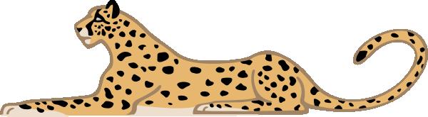 Leopard Clipart 23 - Cute Leopard, Transparent background PNG HD thumbnail