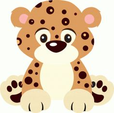 Pin Adorable Clipart Baby Leopard #9 - Cute Leopard, Transparent background PNG HD thumbnail