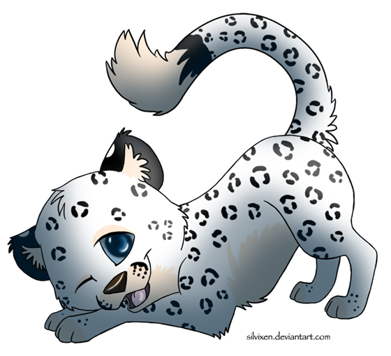 Pin Snow Leopard Clipart Cute #5 - Cute Leopard, Transparent background PNG HD thumbnail