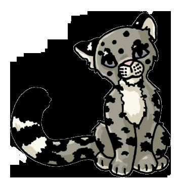 Pin Snow Leopard Clipart Cute #8 - Cute Leopard, Transparent background PNG HD thumbnail