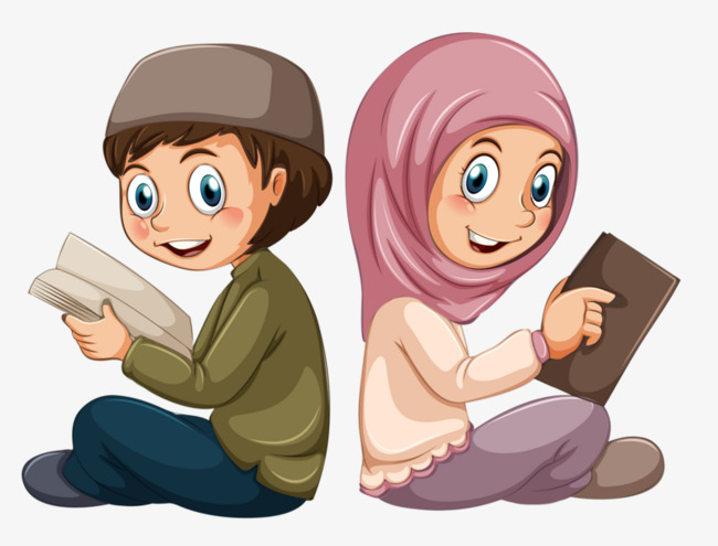 Cute Reading PNG HD