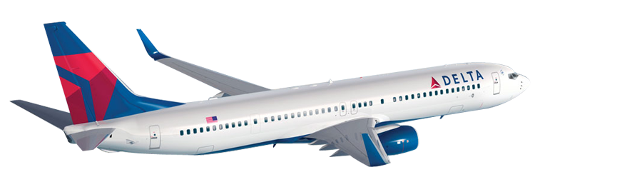 Cheap Delta Airlines Flights   Get Delta Airlines Tickets Online With Holidaymood - Delta Airlines, Transparent background PNG HD thumbnail