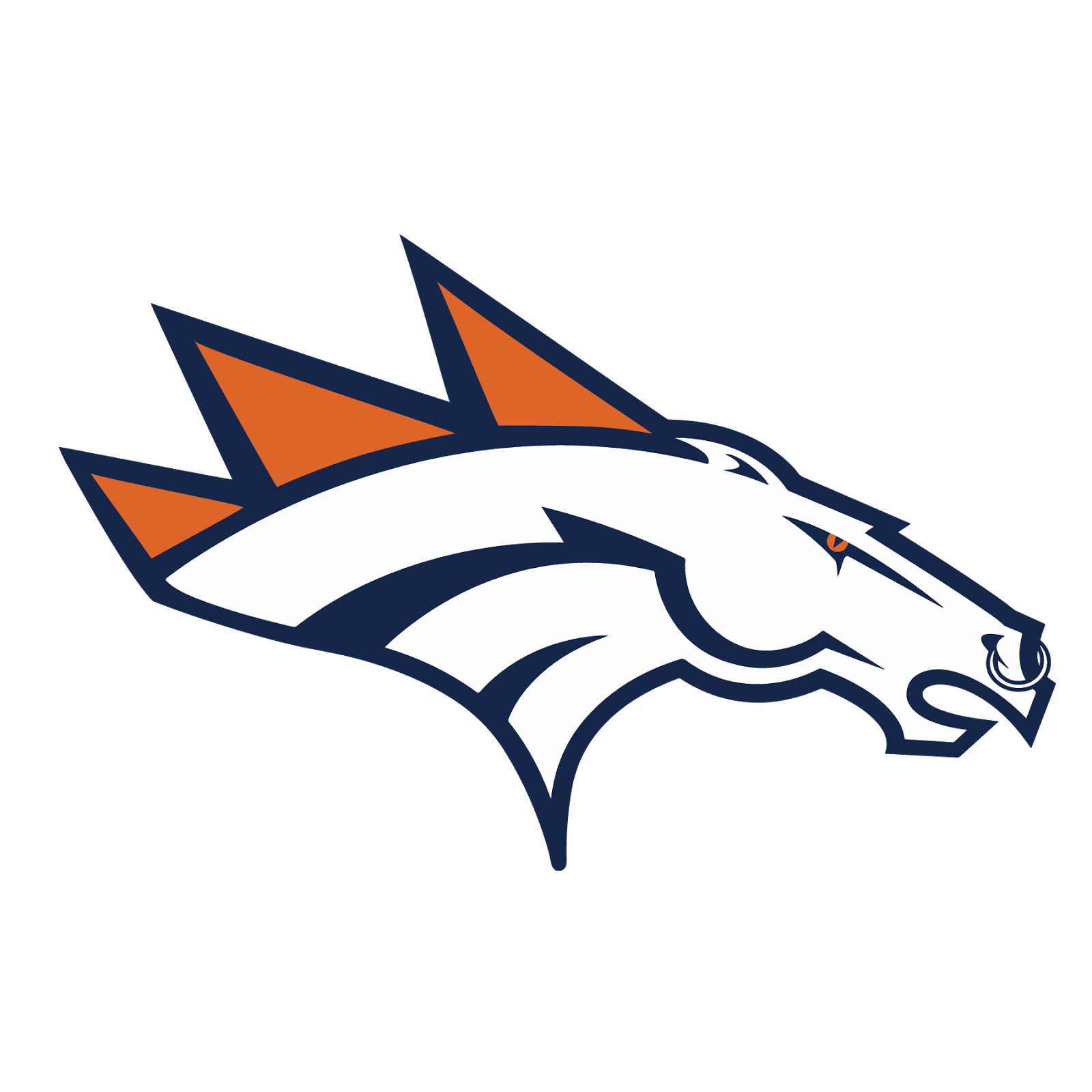 Denver Broncos Png - Denver Broncos, Transparent background PNG HD thumbnail