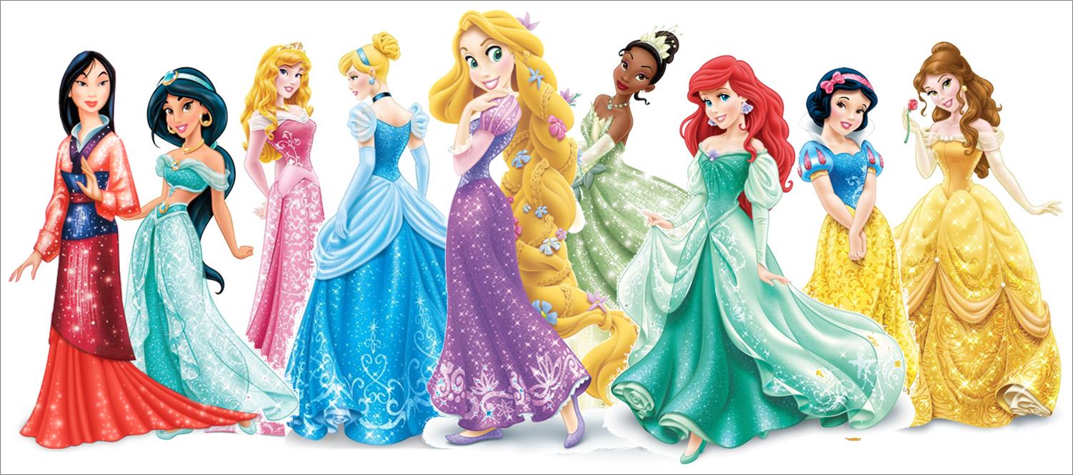 Disney Stuff - Disney Princesses, Transparent background PNG HD thumbnail