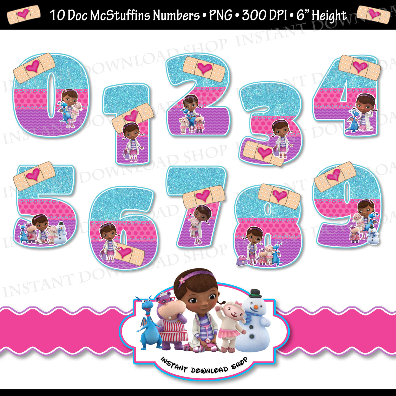 Doc Mcstuffins 2Nd Birthday Png - Pin Number Clipart Doc Mcstuffins #4, Transparent background PNG HD thumbnail