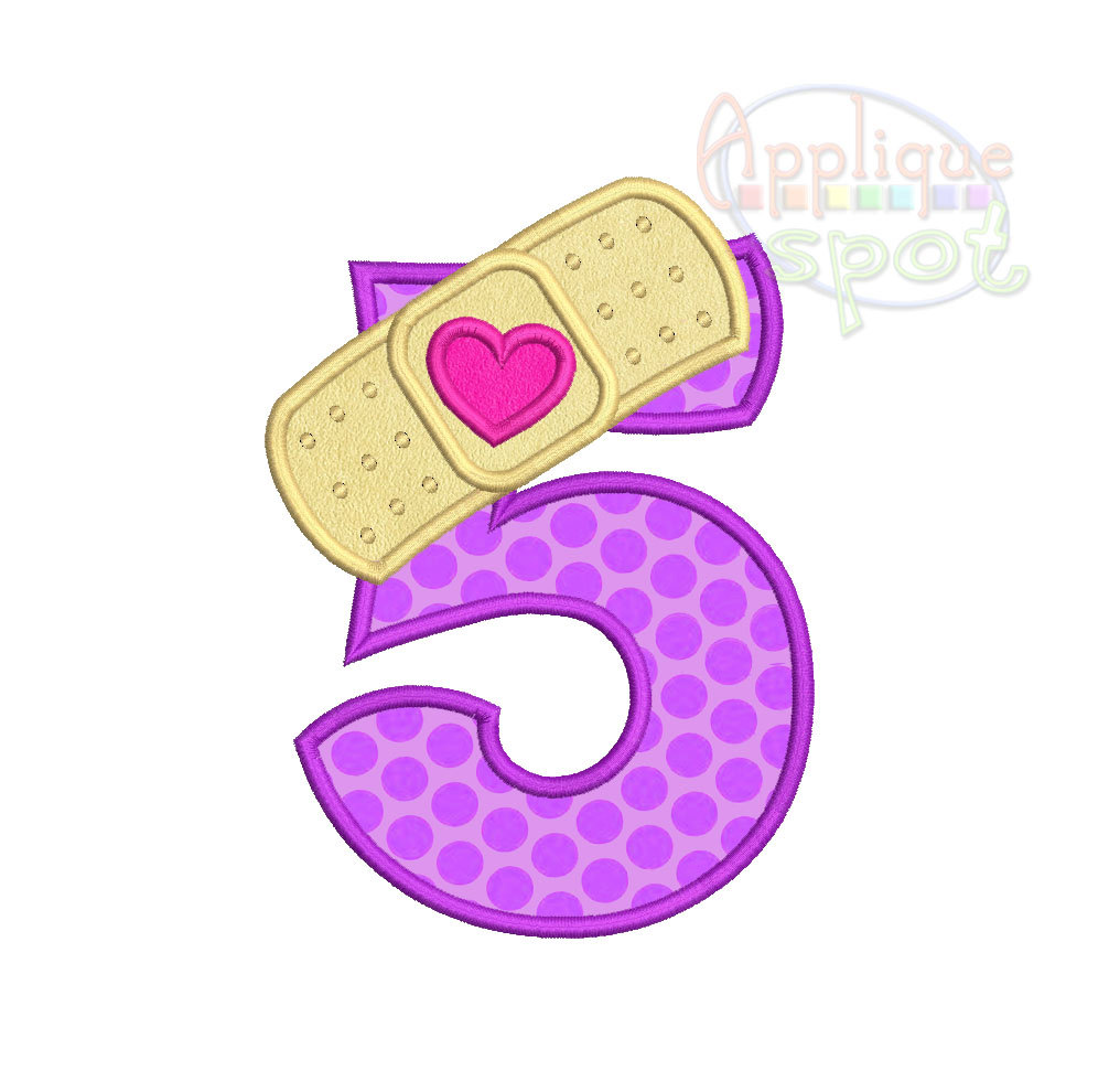 Doc Mcstuffins 2Nd Birthday Png - Number 5   Purple, Transparent background PNG HD thumbnail