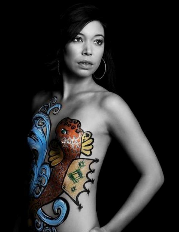 Double Jeopardry Bodypaint - Body Art, Transparent background PNG HD thumbnail