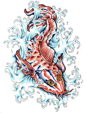 Download Fish Tattoos Png Images Transparent Gallery. Advertisement - Fish Tattoos, Transparent background PNG HD thumbnail