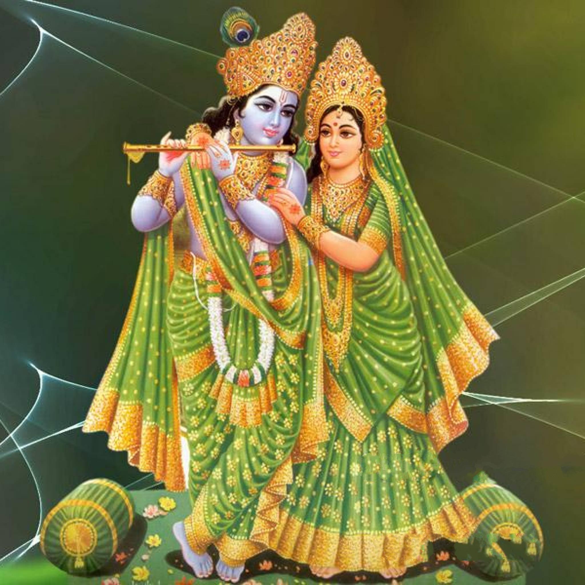 Download God Couple Radha Krishna 2048 X 2048 Wallpapers   4565799   Hindu God Goddess Hinduism | Mobile9 - Radha Krishna, Transparent background PNG HD thumbnail