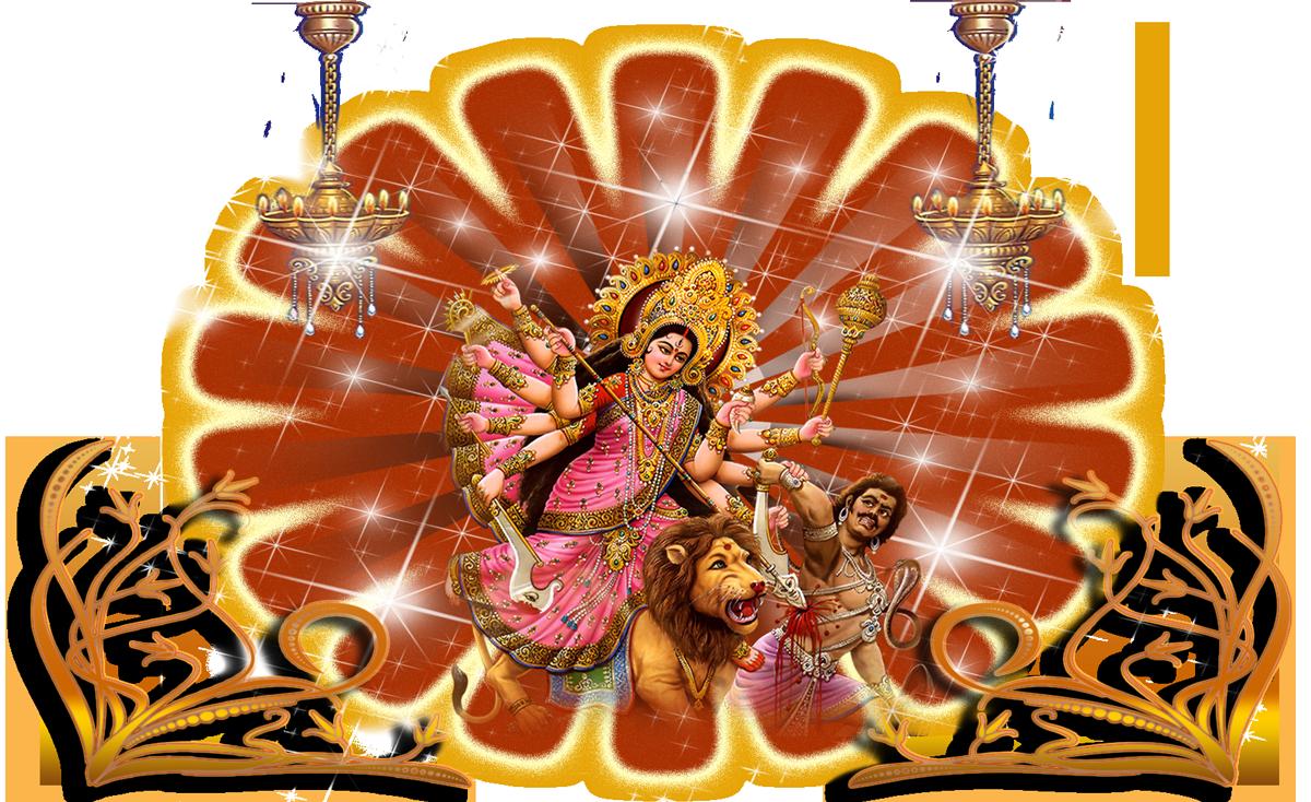 Download Goddess Durga Maa Png Images Transparent Gallery. Advertisement - Goddess Durga Maa, Transparent background PNG HD thumbnail