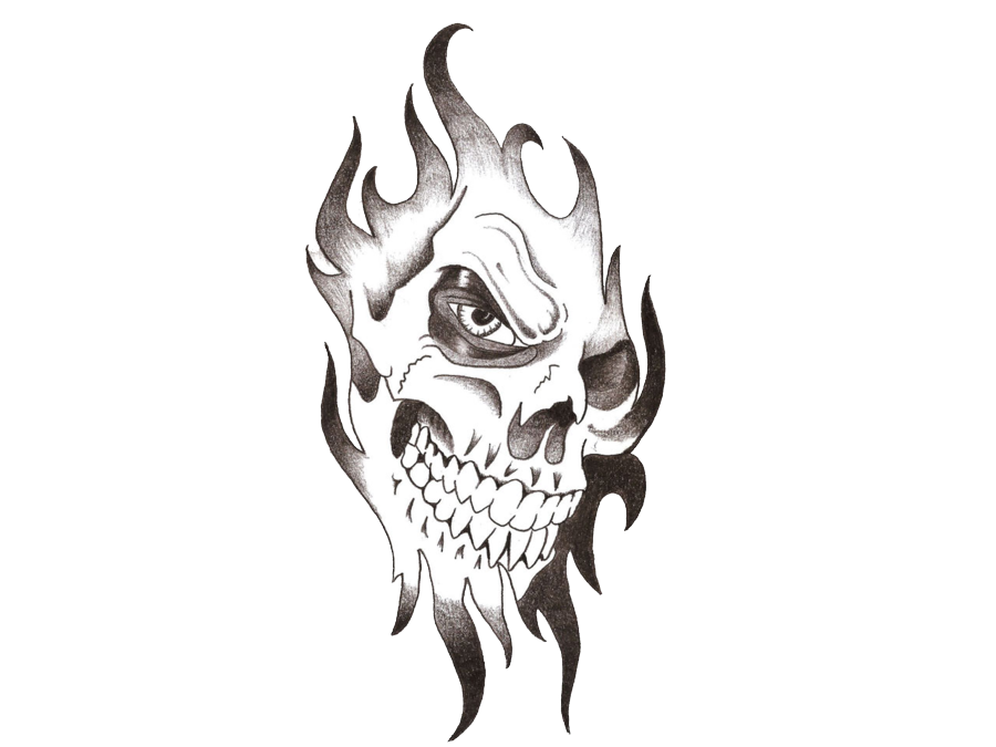Download Skull Tattoo Png Images Transparent Gallery. Advertisement - Tribal Skull Tattoos, Transparent background PNG HD thumbnail