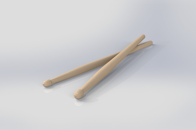 . Hdpng.com Drum Sticks Model Rock 3D Model Obj 3Ds Fbx Stl Dae Lxo Lxl 5 - Drum Sticks, Transparent background PNG HD thumbnail