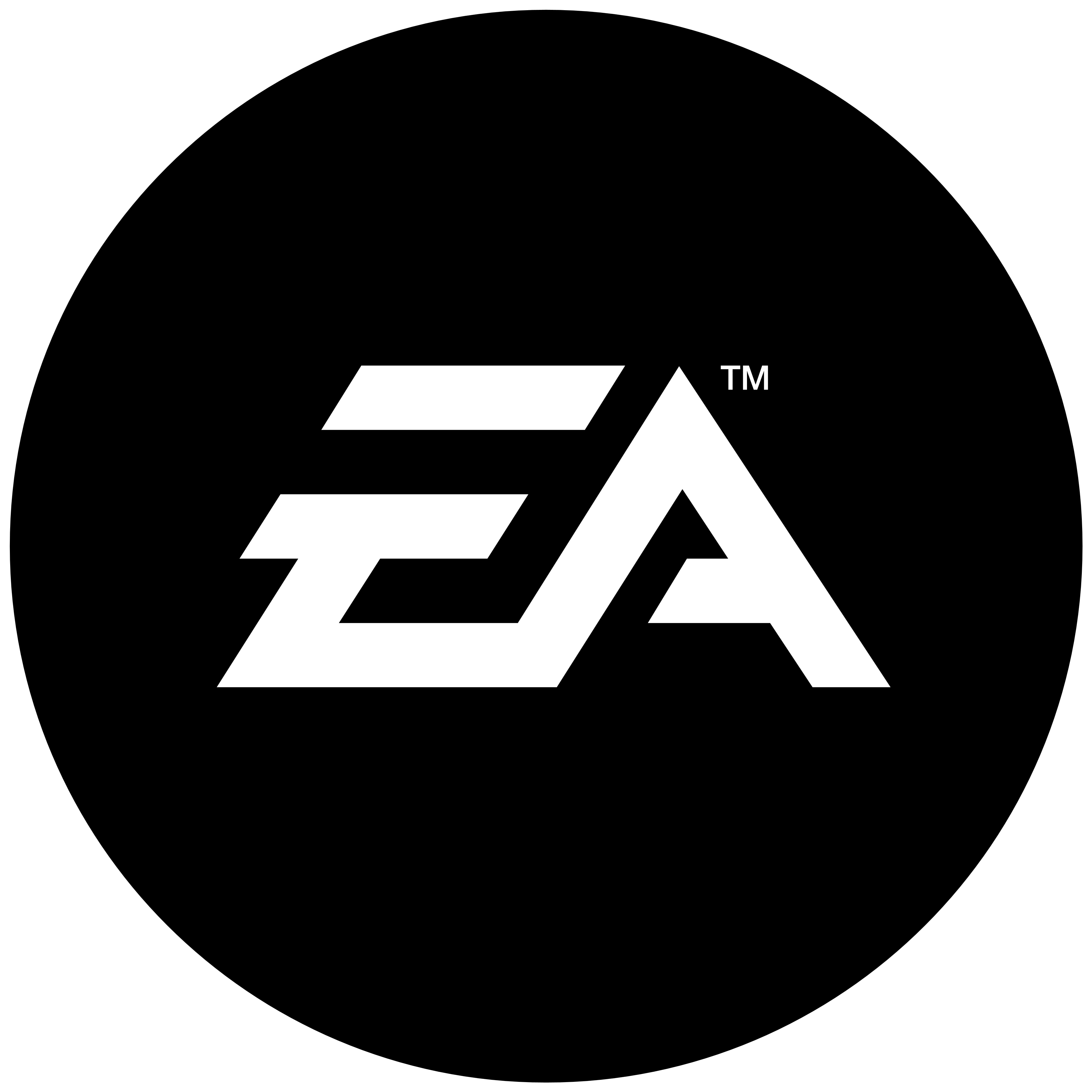 Ea Logo, Black. Some Logos Are Clickable And Available In Large Sizes. Some Of Them Are Transparent (.png). Click The Logo And Download It! - Electronic Arts, Transparent background PNG HD thumbnail
