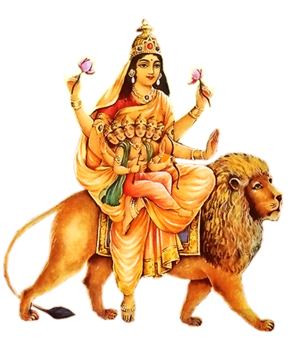 Explore Durga Puja, Hindu Art, And More! - Goddess Durga Maa, Transparent background PNG HD thumbnail