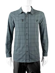 Extra Long In Gray Commuter Shirt - Dress Shirt, Transparent background PNG HD thumbnail